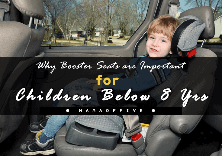 Booster Seats are Important for Children Below 8 Yrs