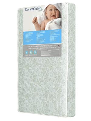 Dream On Me 2 in 1 Foam Core Crib