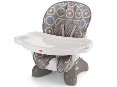 Fisher-Price SpaceSaver High Chair for eating