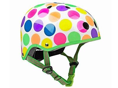 Micro Neon Dots Helmet