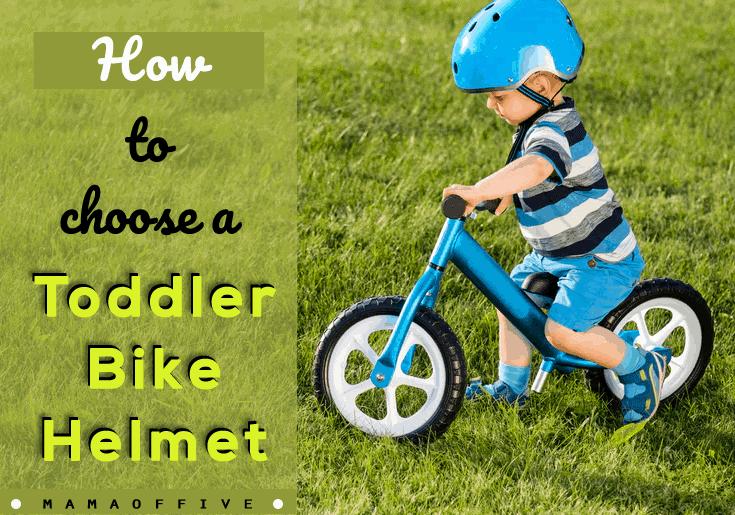 How to choose a toddler Bike Helmet