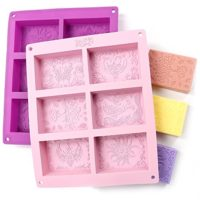 Rectangle Silicone Soap Molds