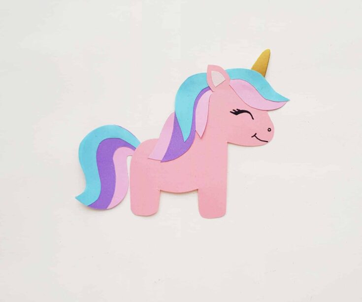 Papercraft Unicorn
